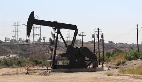 Una plataforma petrolífera als Estats Units.