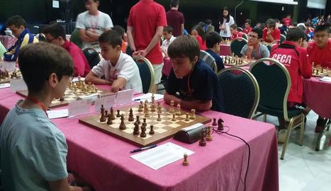 L'Escacs Lleida surt del descens