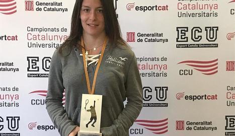 Ares Llobera, campiona de Catalunya universitària
