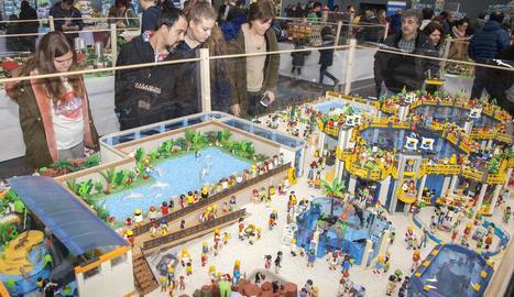 Tàrrega, capital dels clicks amb la celebració de la Fira del Playmobil