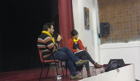 Bea Talegón i David Gil ahir a Torrelameu.