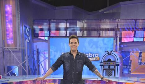Christian Gálvez, al plató del nou programa.