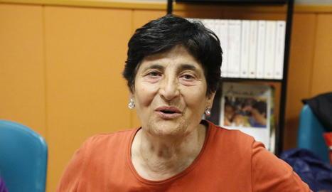 María Luisa Lanza: «Tinc un 'màster' en com estalviar»