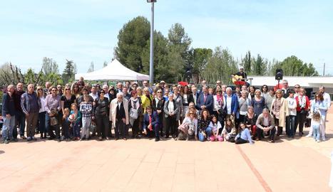 Prop de dos-centes persones van participar en els actes del cinquantè aniversari del club.