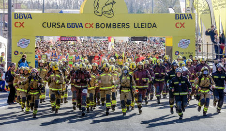 Cursa Bombers Lleida 2018