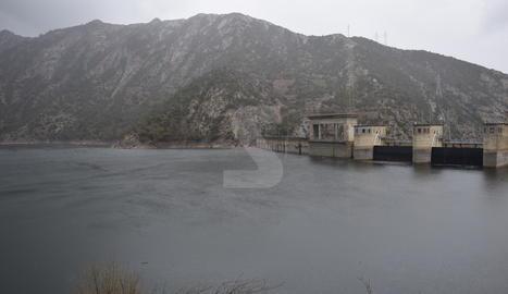 El pantà d'Oliana es trobava ahir al 83% de la capacitat, amb setanta hectòmetres.