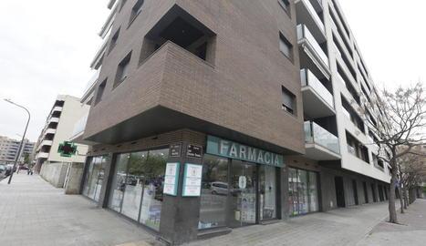 La farmàcia que va atracar està situada al carrer Doctor Trueta.