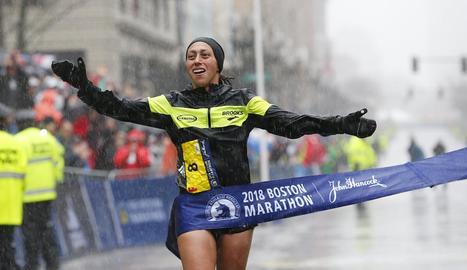 Kawauchi i Linden, nous guanyadors de la Marató de Boston