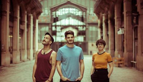 Els integrants del grup Els Catarres, que tocaran a Tàrrega al maig, en una imatge promocional.