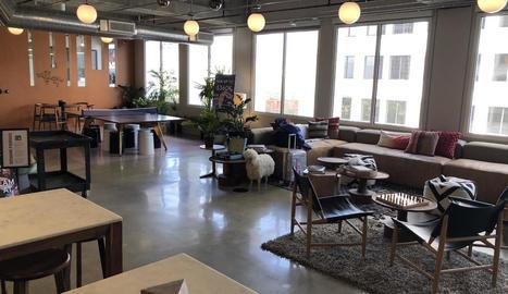 Starloop Studios compta amb dos oficines a Lleida. A la imatge, la de l'avinguda Onze de Setembre.