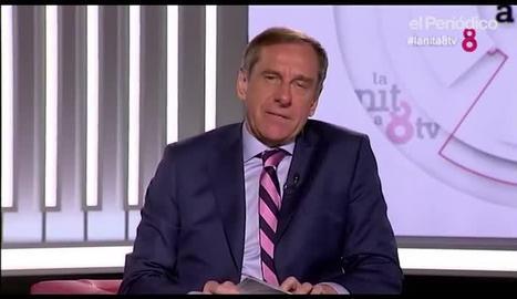 Ramon Rovira a 'La Nit' de 8TV.