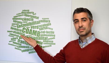 Ricard Vizcarra: «L'economia serà verda o no serà»