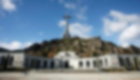 Vista del Valle de los Caídos, a San Lorenzo del Escorial.