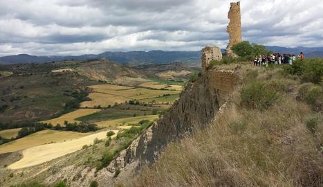 El despreniment de Puigcercós, un dels atractius geològics i històrics del Geoparc.