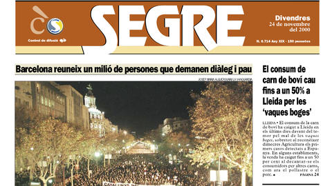 Lleida i Catalunya ploren Ernest Lluch