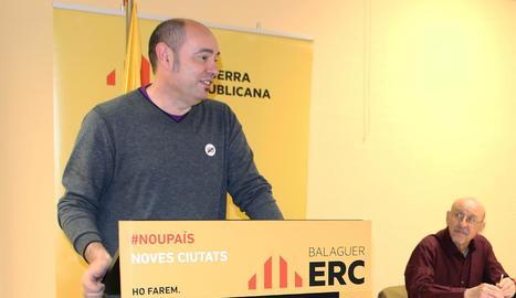 Vidal, alcaldable d'ERC a les municipals de l'any vinent