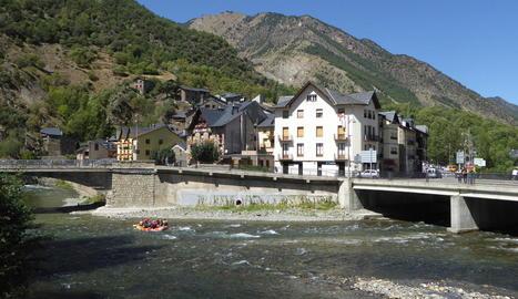 Imatge d'arxiu de Llavorsí, al Pallars Sobirà.