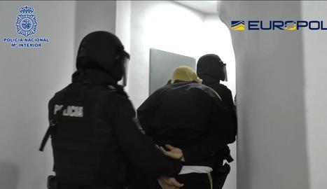 La detenció es va produir dilluns a Màlaga.