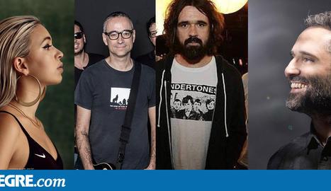 Jorge Drexler, Xavi Sarrià, Ramon Mirabet, Dr Calypso, Bad Gyal i Berri Txarrak, a la Festa Major de Lleida