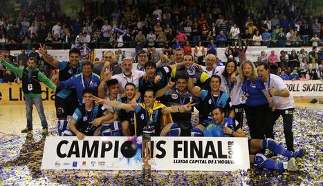 El Llista fa història i conquereix la Copa CERS
