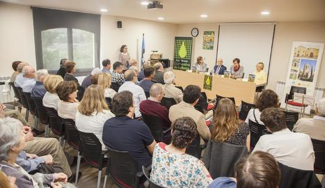 Presenten el llibre del centenari de la cooperativa de Vallbona