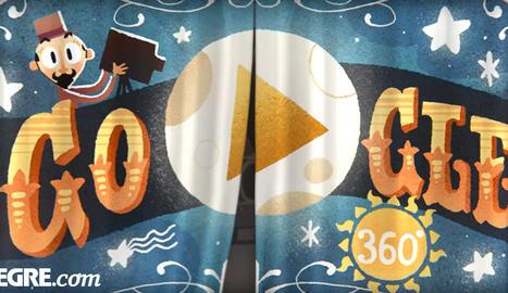 Primer Doodle interactiu en 360º de Google