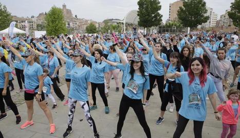 Milers de persones van participar a Balaguer en les activitats organitzades per Afanoc.