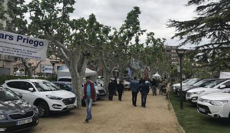 Borges Motor ven més de quaranta cotxes en la primera edició