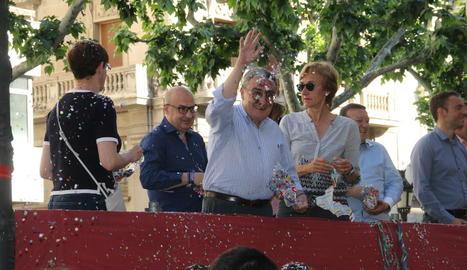 L'alcalde Àngel Ros va participar en la batalla amb més regidors.