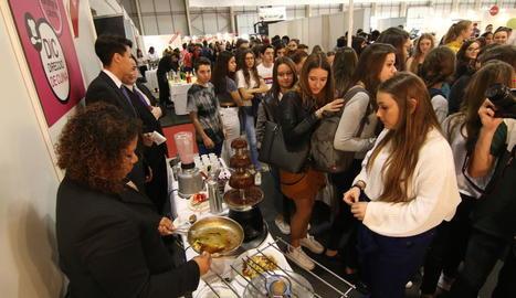 Imatge de la fira de Formació Professional celebrada a Lleida el mes d'abril.