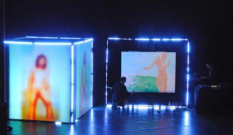 Intel·ligència artificial, pintura i música, principals, ingredients de 'My artificial muse'.
