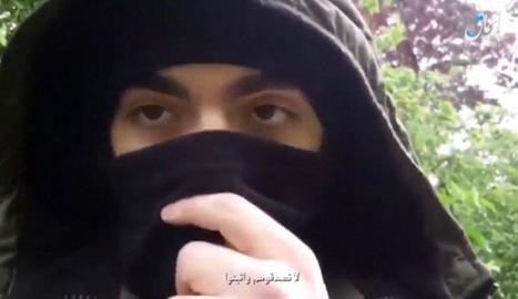 """Comiat - Abans de cometre l'apunyalament massiu de dissabte, Khamzat Azimov va gravar un vídeo de comiat en el qual jurava lleialtat al líder de Daesh, Abu Bakr al-Baghdadi. Així mateix, animava els seus """"germans"""" musulmans a atemptar en a ..."""