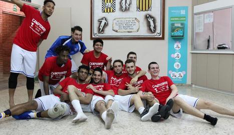 El Mollerussa conquista el títol i ascendeix a Segona Catalana