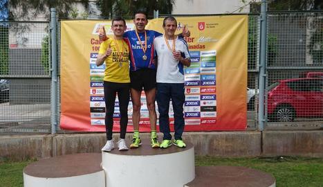 Sancho Ayala, campió d'Espanya de 10.000