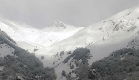 Nevada a la Val d'Aran i el Pallars Sobirà