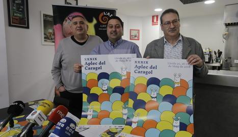 La presentació de la 39a edició de l'Aplec del Caragol de Lleida.