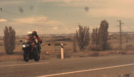 'Caçat' un motorista a 188 km/h per l'N-240 a Lleida