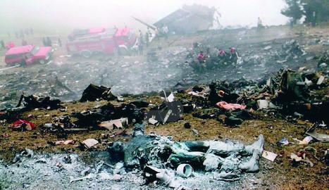 L'accident del Iak-42 acaba amb la vida de 62 militars espanyols