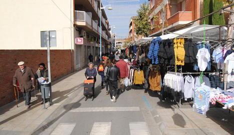 El mercat deixarà de celebrar-se al carrer Arbeca.