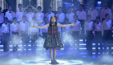 Melani, de 10 anys, és la guanyadora més jove del concurs.