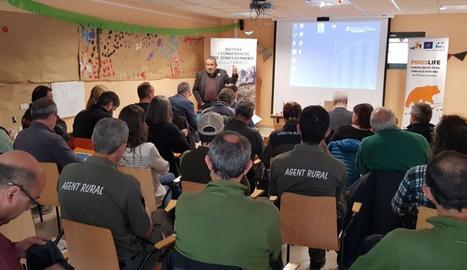 Presentació del programa Piroslife ahir a Llavorsí.