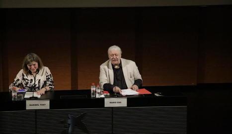 Mario Gas parla a Lleida de la importància de la poesia a les seues obres