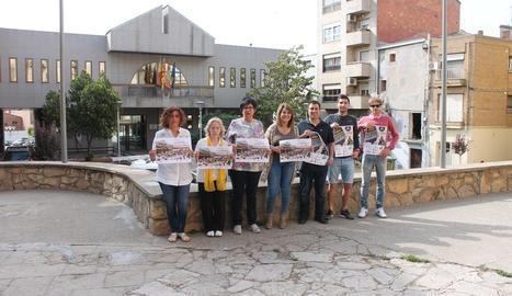 La presentació de la setzena edició del Mercat d'Aitona.