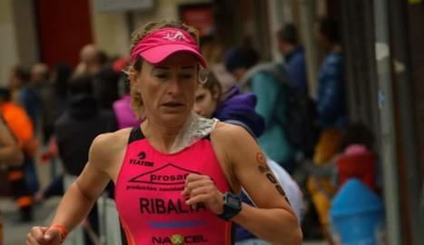 Dos triatletes del Prosan a la Half Iruña