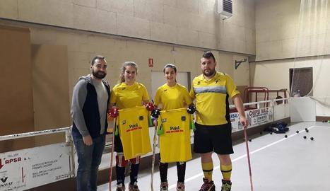Lluís Rodero, Teresa Payá, Joana Quiles i Jordi Capdevila.