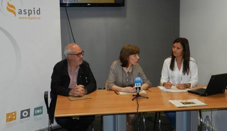 La roda de premsa d'Aspid