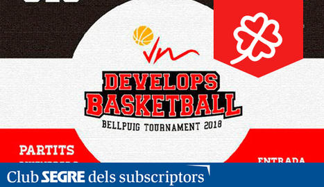 1er Torneig VM Develops Basketball a Bellpuig.