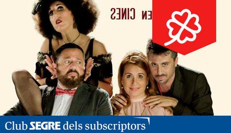 Cartell de la comèdia espanyola 'El Intercambio'.