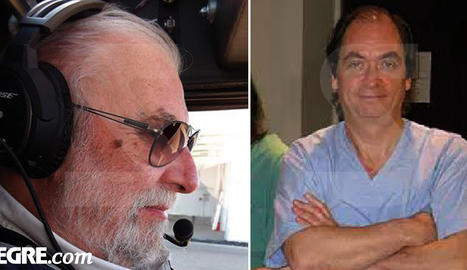 Joseph Georges Gilman (pilot) i Philippe Gutwirth (copilot)