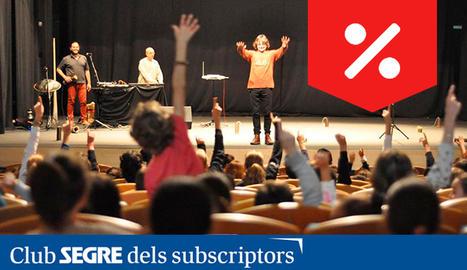 'Petit Univers', espectacle concert familiar de divulgació científica.